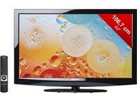 Medion Life X16998 106,7 cm (42 Zoll) LED-Backlight-Fernseher, Energieeffizienzklasse B (Full-HD, 200Hz, DVB-T/C/S, HbbTV, CI+) schwarz