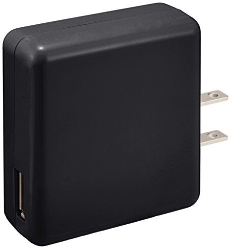 ELECOM エレコム iPhone6 iPhone6 Plus 対応 スマートフォン/タブレット用 【超急速充電】 AC充電器 USB 1800mA ブラック MPA-ACUA0018BK