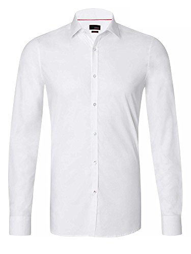 CINQUE Herren Businesshemd Slim Fit weiß 40/M