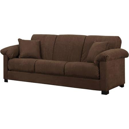 8 t1shop very cheap montero microfiber convert a couch sofa bed dark brown fast shoping buy