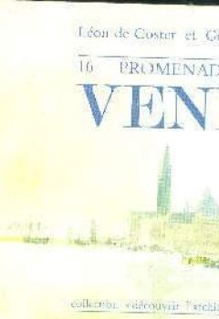 Book's cover of 16 promenades dans Venise