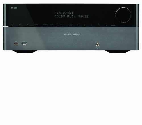 Harman Kardon AVR 365 7.1 A/V Receiver (HDMI, Audio Rückkanal, DLNA, Internet-Radio)