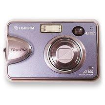 Fujifilm 4 MP A360 Digital Camera w/ Bonus Deluxe Digital Photo Kit