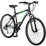 "26"" Schwinn Sidewinder Men's Mountain Bike, Matte Black/Green by schwinn"