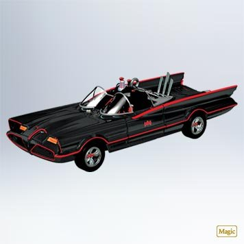 The 1966 Batmobile - Magic Sound Ornament - A Hallmark Classic