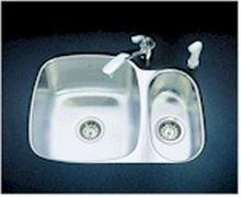 kindred closeout uc1925 80ml e 25 x 19 undermount kitchen sink in st nomomofnoanonono