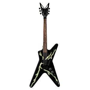 Dean Dimebag Guitar, Black Bolt ML with Floyd Rose Locking Tremelo