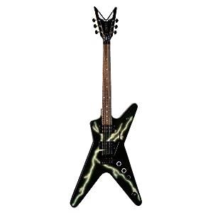 Dean Dimebag Guitar, Black Bolt ML with Floyd Rose Locking Tremelo