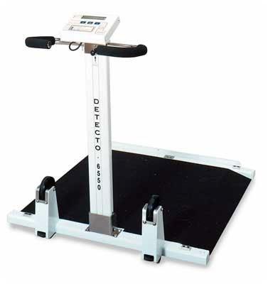 Detecto Portable Folding Wheelchair Scale