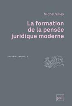 Livres Couvertures de La Formation De La Pensée Juridique Moderne