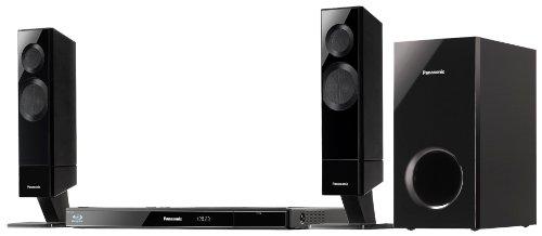 Panasonic SC-BTT282EGK 2.1 Blu-ray-Heimkinosystem (multifunkt. Lautsprecher, 520 Watt, W-LAN integriert, Viera Connect, Smartphone App, 2D/ 3D, 2xHDMI) schwarz