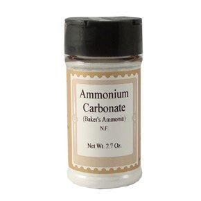 Baking Ammonia (Ammonium Carbonate), Bulk, 2 oz