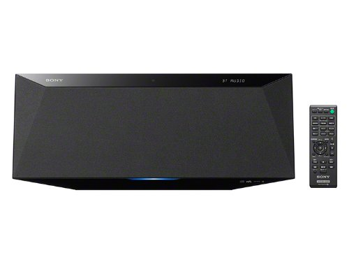 SONY マルチコネクトコンポ Bluetooth対応 CDプレーヤー内蔵 ラジオ内蔵 ブラック CMT-BT40/B