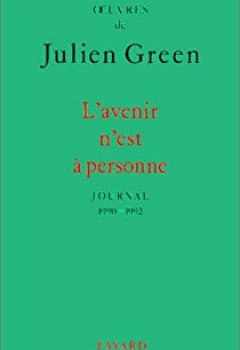 Livres Couvertures de L'Avenir N'est à Personne : Journal 1990 1992