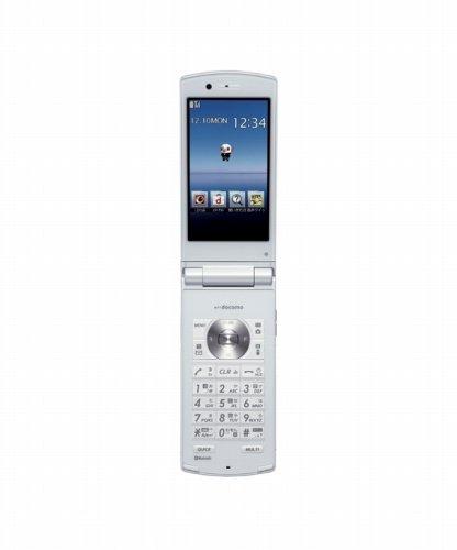 【N-01E ホワイト】 携帯電話 本体 白ロム docomo