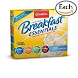 Carnation Breakfast Essentials Complete Nutritional Drink, Packets, Classic French Vanilla, (1 box/10 packs)