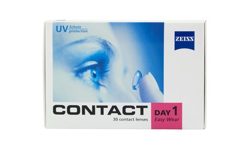 Contact Day 1 Easy Wear - 30er Box (Dioptrien: -2,00 / Basiskurve: 8,60 / Durchmesser: 14,20)