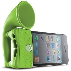 Bone Collection Portable Amplifier for iPhone, Horn Stand - Available in various colors