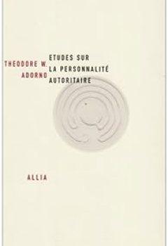 Livres Couvertures de Etudes Sur La Personnalité Autoritaire
