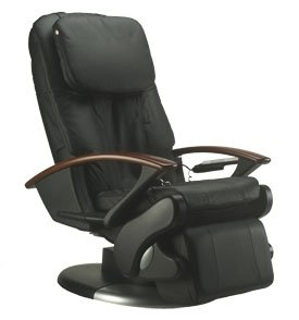 HT 140 Black Leather Massage Chair