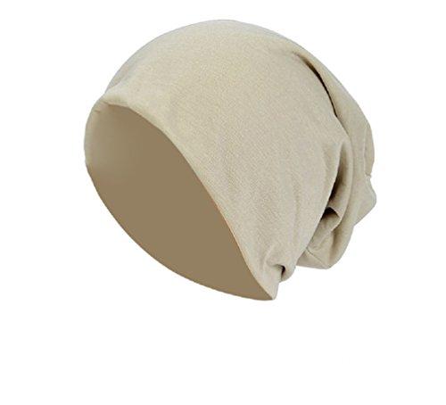 Baumwolle Long Beanie Slouch Unisex in versch. Farben, leicht und weich, Longbeanie