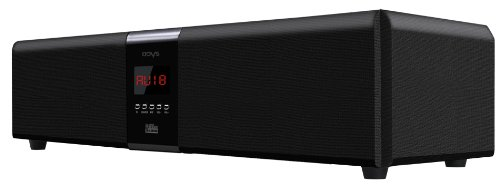 Odys Xound 3D 6.1 Soundbar (6 Satellitenboxen, 1 Subwoofer, 3D Soundbar, 80 Watt) schwarz