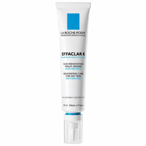 La Roche-Posay Effaclar K Daily Renovating Anti-Relapse Acne Treatment, 1.01 Fluid Ounce
