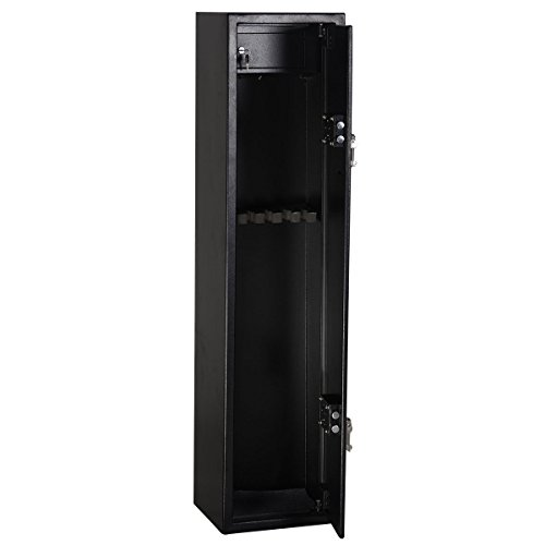 Exceptionnel Goplus 2 Key 6 Gun Rifle Storage Cabinet Long Gun Steel Security Case Safe  Rack With Ammo Box For Home