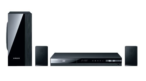 Samsung HT-E4200 2.1 3D-Blu-ray-Heimkinosystem (500 Watt, WLAN-Ready, USB) schwarz