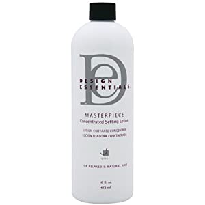 design essentials masterpiece concentrated setting lotion 16 fl oz hair care