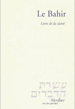 Livres Couvertures de Le Bahir. Livre de la clarté, Edition bilingue