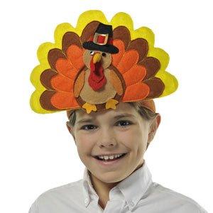 Happy Turkey Day Headband by CoolGlow