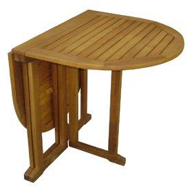 Balkontisch, Klapptisch, ovaler Tisch, Gartentisch, Holztisch, BALTIMORE; Eukalyptusholz FSC