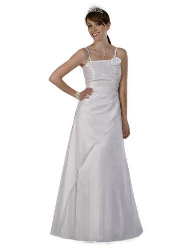 Envie/Paris - 1009 SOPHIA Brautkleid Abendkleid 1-teilig in Weiss Gr.38-56