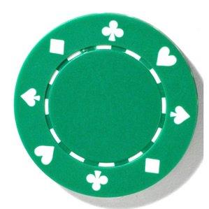 Image result for green poker chip