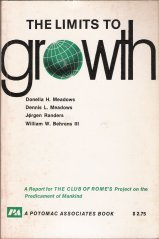 """Cover of """"The Limits to growth: A report ..."""