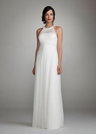 b196815f221fa Davids Bridal Wedding Dress Neckline