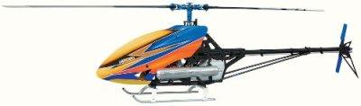 Hirobo-Turbulence-D3-V2-Helicopter-Model-Building-Kit