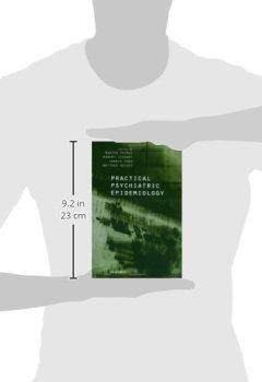 Livres Couvertures de Practical Psychiatric Epidemiology