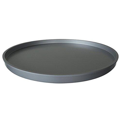 Kartell 4959SI Abschlußplatte für Baukastenelement Componibili rund undurchsichtig Durchmesser 42 x 2,9 cm ABS, silber
