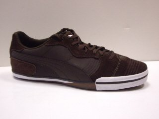 Puma Esito Vulc Sala NM Herren Freizeitschuh/Sneaker, coffee bean-white, Gr.43 (UK9)(US10)