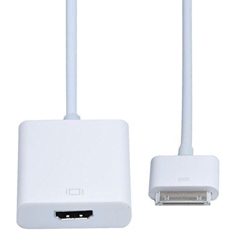 No brand iPad iPhone touch を モニタ に出力 HDMI 変換 アダプタ Dock → HDMI 変換