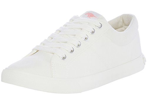 Rocket Dog Women's Campo Canvas Fashion Sneaker (10 B(M) US, White)