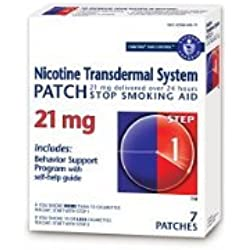 Habitrol Nicotine Transdermal System Stop Smoking Aid, Step 1 (21 mg), 7 Patches Sold By HERO24HOUR Thank You