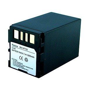 Battery for JVC GR D396 (3300 mAh, DENAQ)