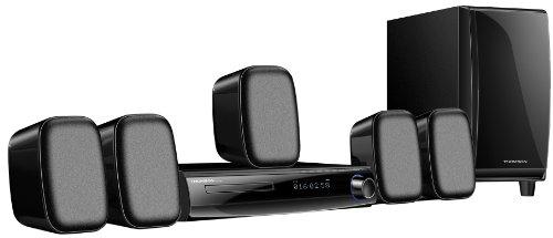 Thomson HT200SH 5.1 Heimkinosystem (300 Watt, HDMI, Upscaler 1080p, DVD, USB 2.0) schwarz