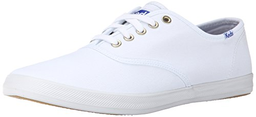 Keds Men's Champion Original Canvas Sneaker, White, 9 M US