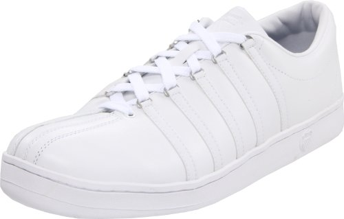 K-Swiss 02248-101-M THE CLASSIC, Herren Sneaker, Weiss (white/white), EU 42.5, (UK 8,5)