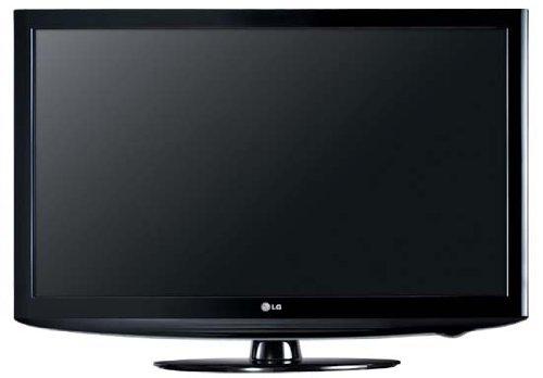 LG 32LD320 81,3 cm (32 Zoll) LCD-Fernseher (HD-Ready, 50Hz MCI, DVB-T/-C) schwarz
