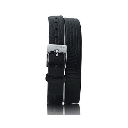 Pandora Zubehör Lederbänder Double Oblong 881046BK